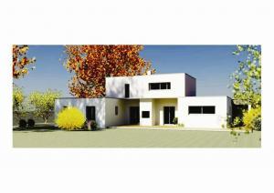 Photo maison contemporaine