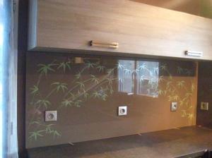 Passion verre moidieu au salon batiexpo grenoble for Credence cuisine avec motif