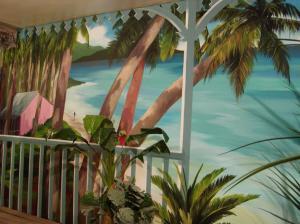 trompe l 39 oeil pour salle de gymnastique priv e catalogue batiexpo. Black Bedroom Furniture Sets. Home Design Ideas