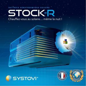 Photo Stock-R Batterie aérothermique solaire