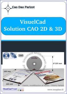 Photo VisuelCad solution CAO illimitée portable et libre pour tous