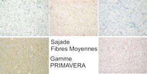 Photo Enduit écologique textile : Fibres moyennes