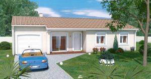 Photo Maison individuelle plain-pied avec garage