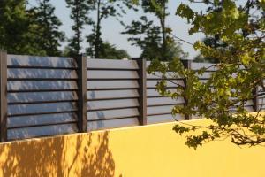 Photo pare-vue en aluminium