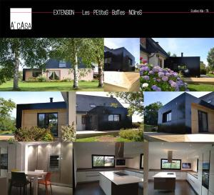 Photo Construction d'une extension sur mesure