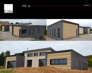 Photo Construction d'une maison individuelle sur mesure