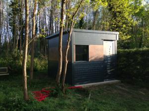 Photo Construction de cabane de jardin