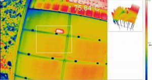 contr le de panneaux photovolta ques par drone catalogue batiexpo. Black Bedroom Furniture Sets. Home Design Ideas