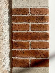Photo imitation pierres de taille et briques