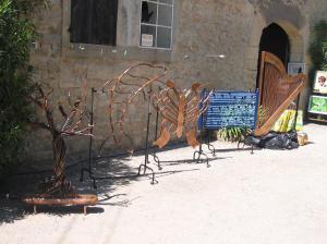 Photo Réalisation de radiateurs décoratif ou de sculpture en cuivre