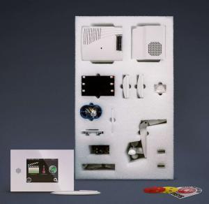 Photo Pieuvre électrque domotique préfabriquée - Installation électrique connectée prête à poser