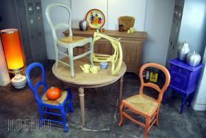 Photo relooking de meuble (décapage par aérogommage)