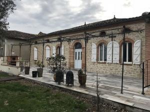 Photo Rénovation de façade en aspect pierre