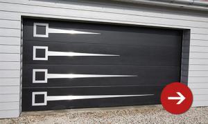 Photo Vente et pose de portails porte de garage pour particulier ou professionnel