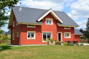 Photo conseil en construction de maisons en bois massif