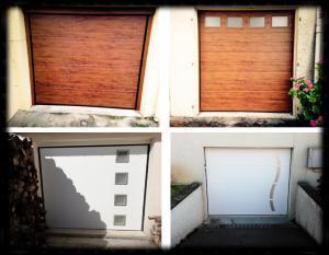 Photo Quelques exemples de nos portes de garage
