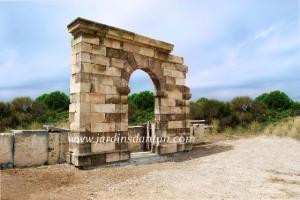 Photo Arcature en pierre massive