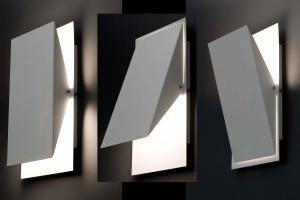 Photo Luminaire appliqué murale design HOMS (ensemble de 2)