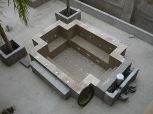 Photo Création de spa béton sur mesures
