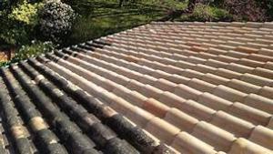 Photo nettoyage de toiture