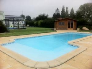 Photo piscine coque polyster