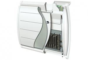 radiateur lectrique chaleur douce catalogue batiexpo. Black Bedroom Furniture Sets. Home Design Ideas