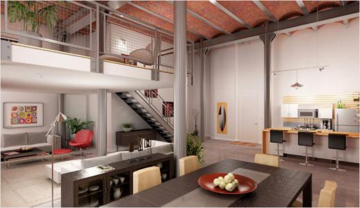 comment d corer l 39 int rieur de son loft forum. Black Bedroom Furniture Sets. Home Design Ideas
